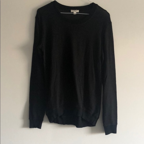 Wilfred Black crew neck sweater